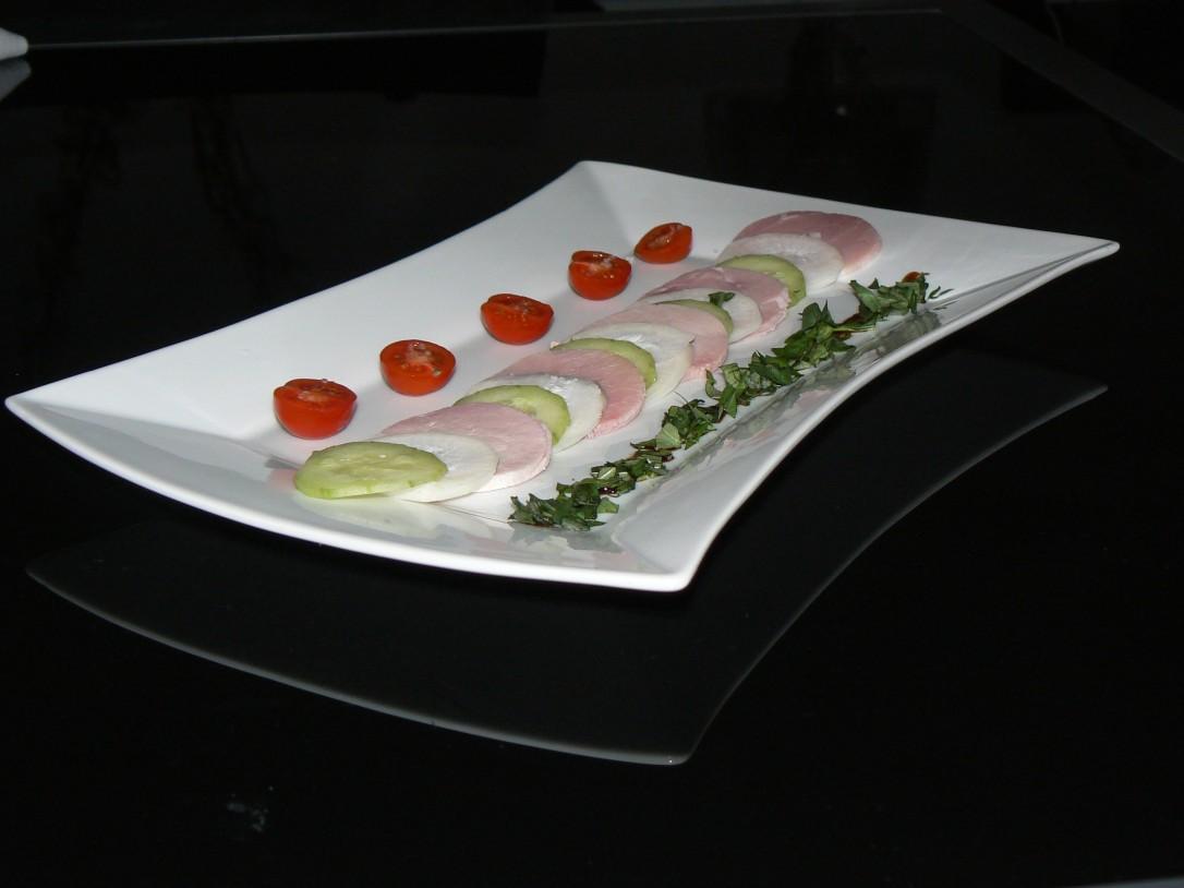 carpaccio jambon-radis-concombre 1