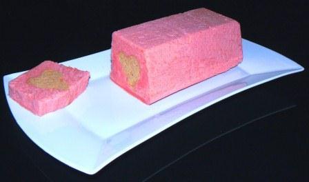 gateau rose coeur ST valentin 2