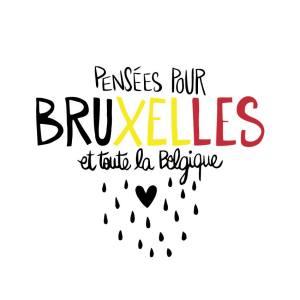 pensée pour Bruxelles