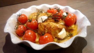 Poulet épicé aux tomates 2