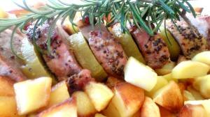 Filet mignon kiwi Gros plan
