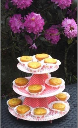 Muffin au melon, noisettes, et menthe 3