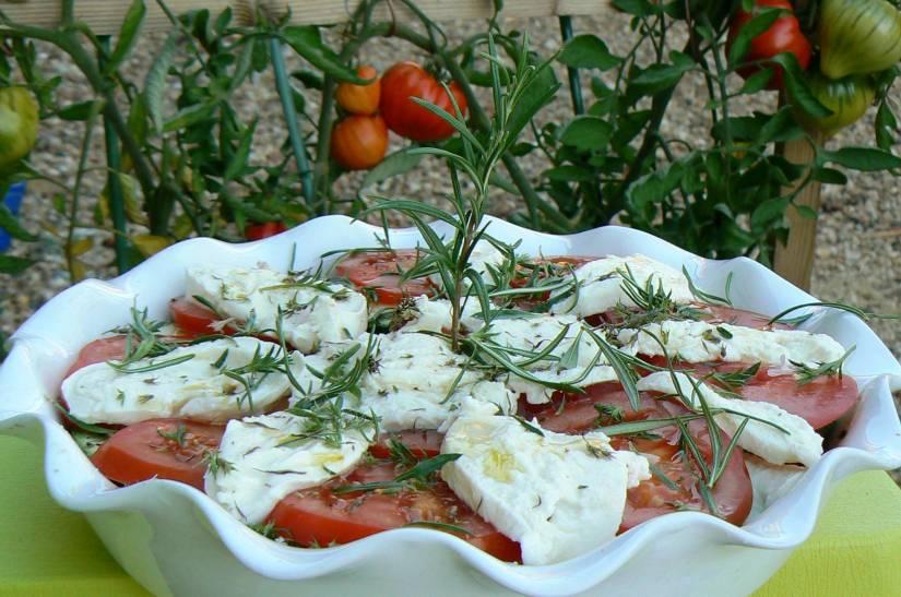 gratinée de tomates courgettes à la mozzarella