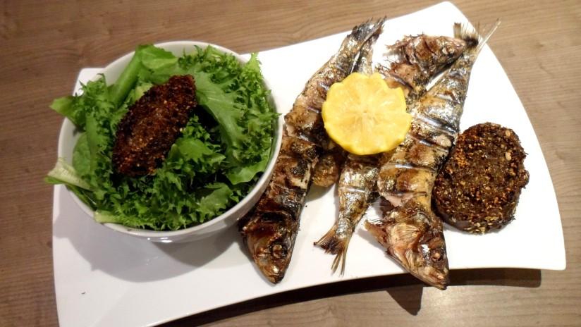 grillade sardine
