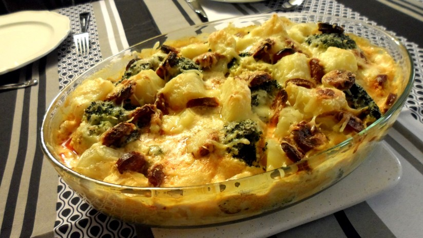 gratin-de-brocoli-pomme-de-terre-au-chorizo