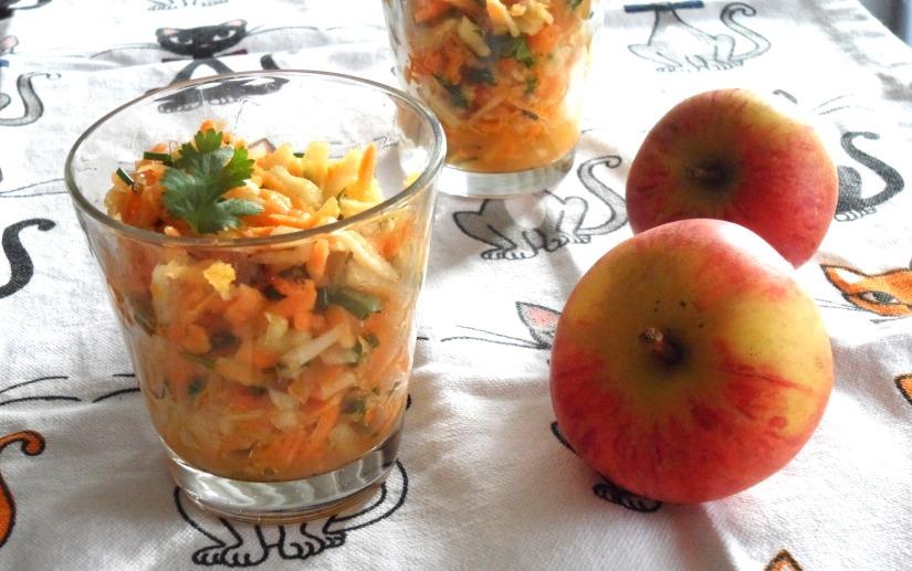 verrine-de-pommes-carotte-vianaigrette-miel-curry