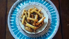 Allumettes feuilletés aux anchois