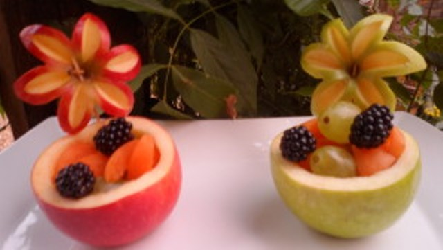 coupelles-de-fruits-Flower 1