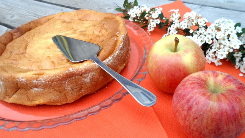gâteau aux pomme sans matière grasse