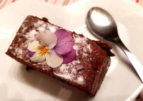 Terrine chocolat spéculos part