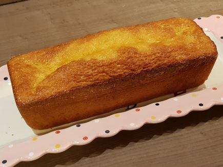 cake au citron avant glaçage