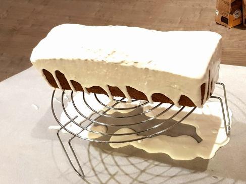 cake au citron glaçage