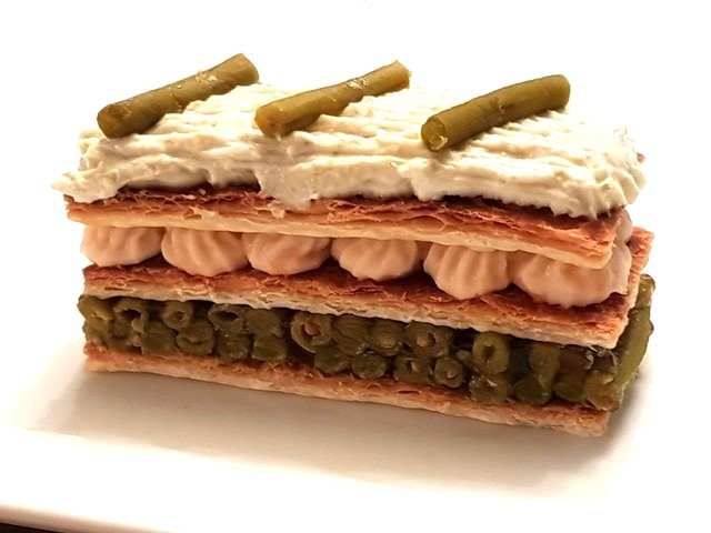 mille feuilles haricots verts2