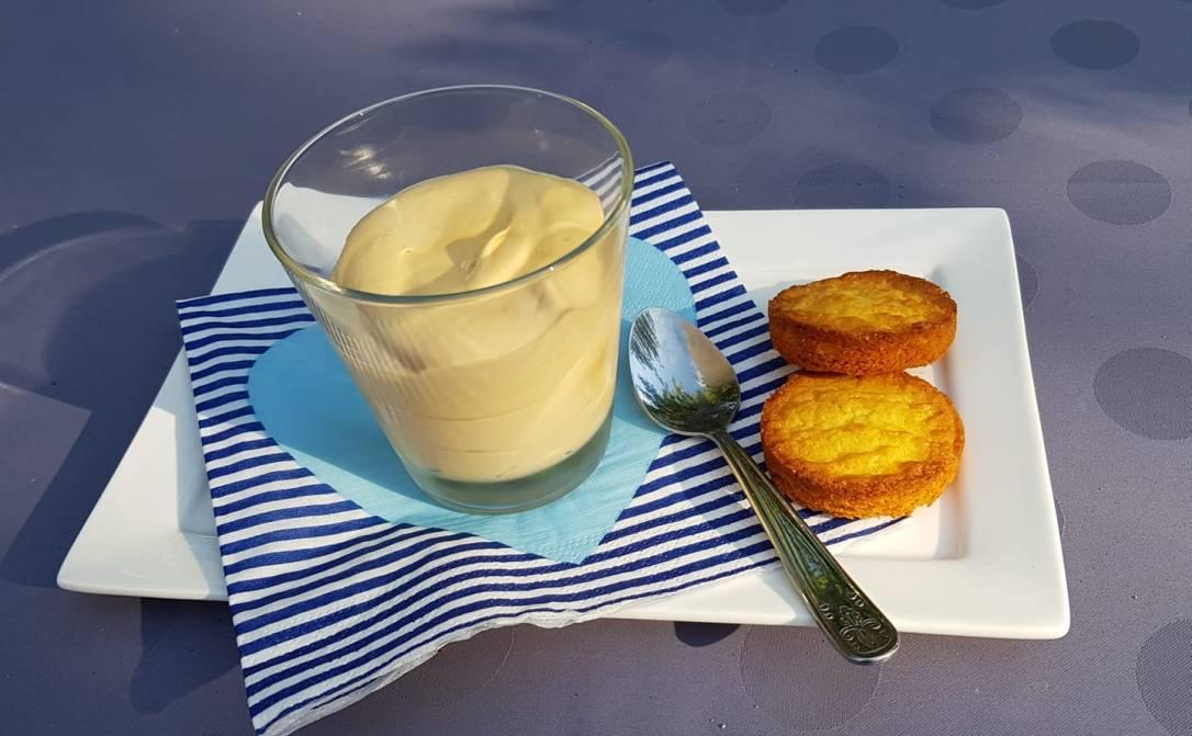 mousse de caramel de beurre salé