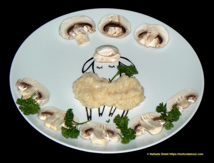 risotto aux champignon