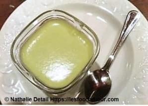 yaourt à la menthe