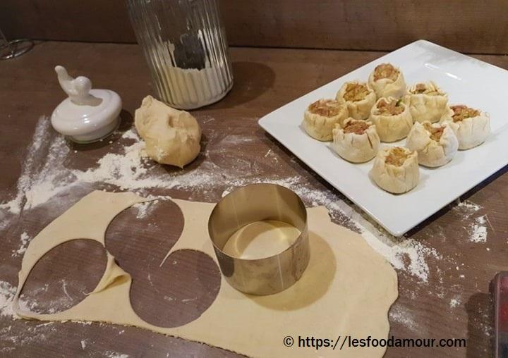 Bouchées vapeur chinoises, moelleuse et parfumées