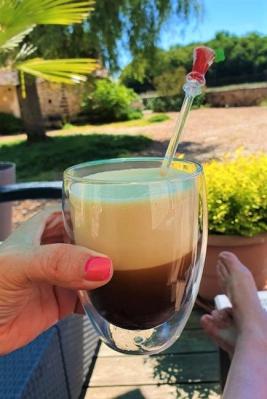 Café frappé glacé