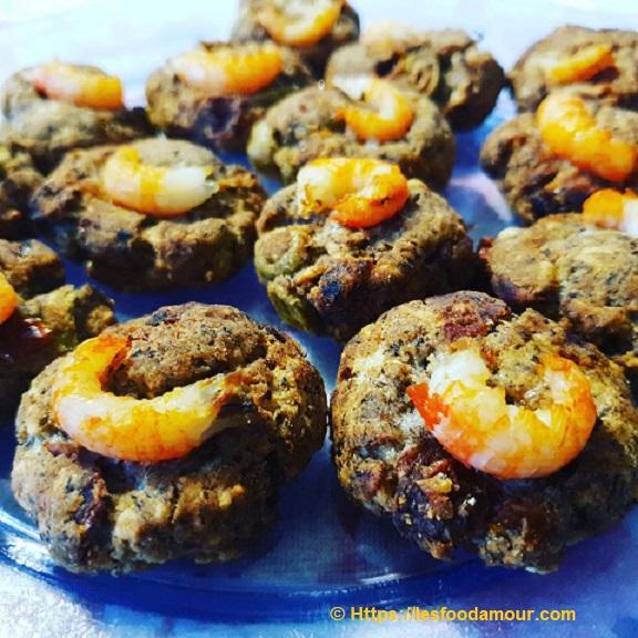 Cookies salés bretons pour l'apéro aux langoustines