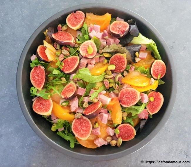 Salade vitaminée aux figues