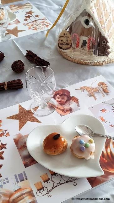 Tabling set de table ambiance de Noël