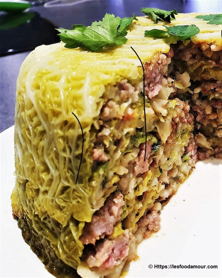 Gâteau de chou à l'italienne
